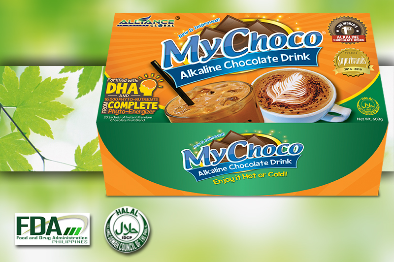 MyChoco - Alkaline Chocolate Drink